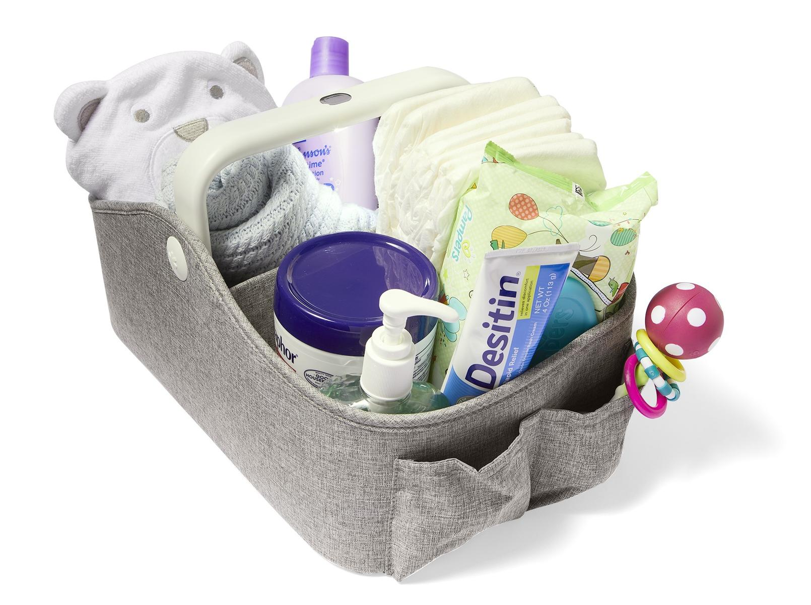 Changing Hero Light Up Diaper Caddy