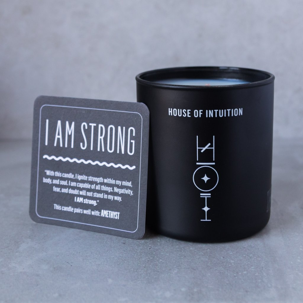 I Am  Affirmation Candle