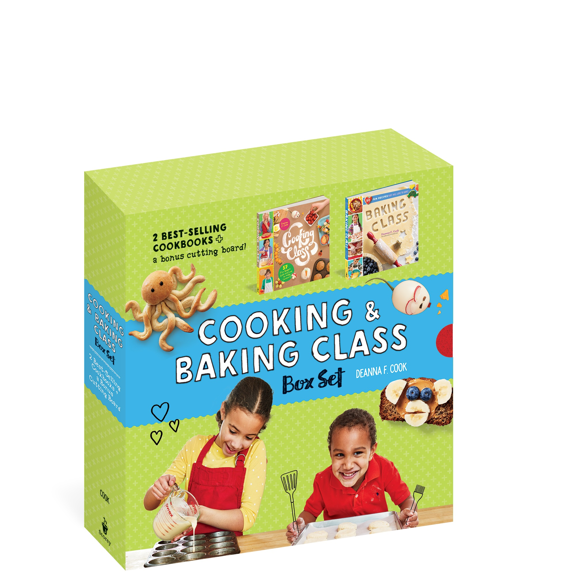 Cooking and Baking Class Boxed Set