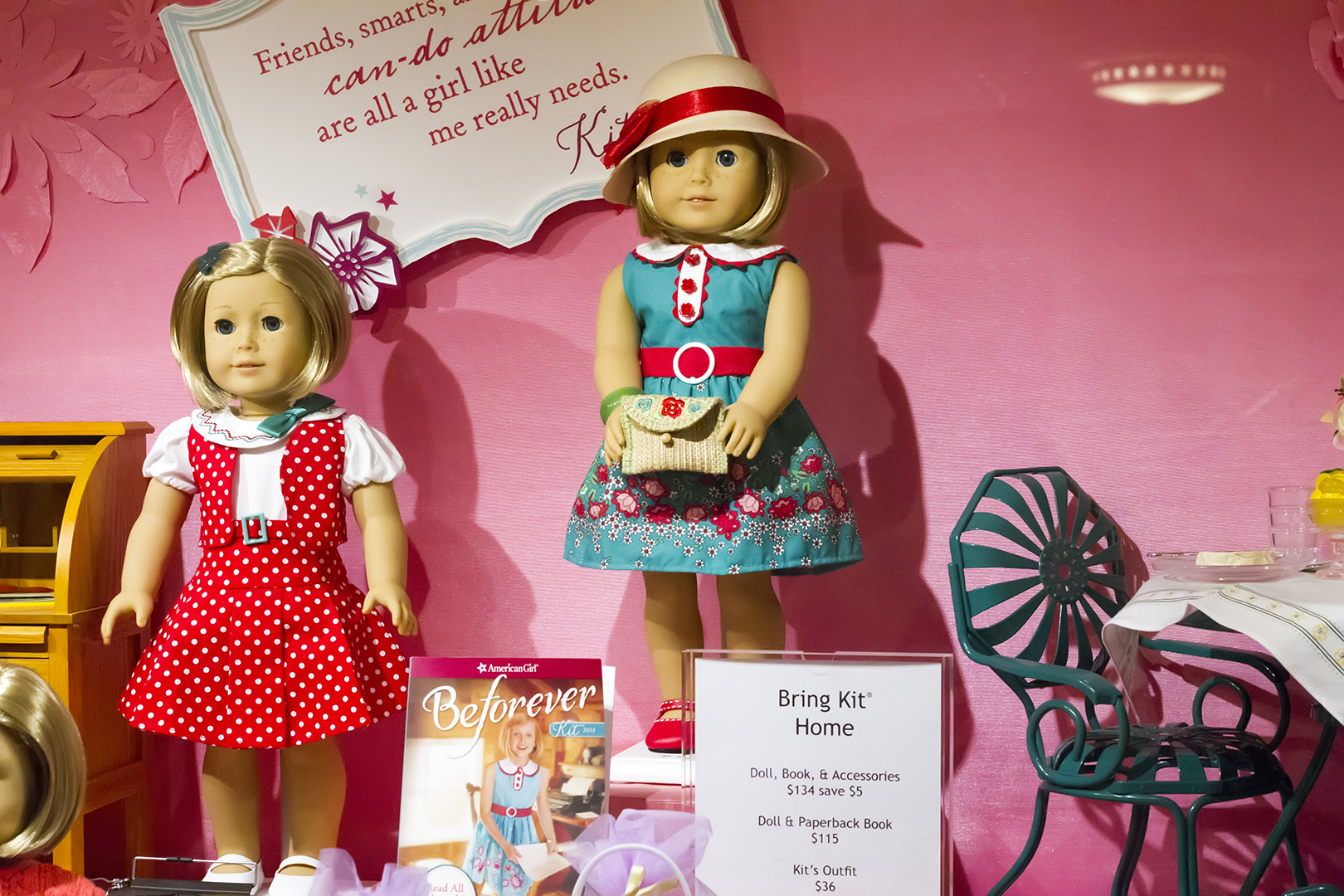 old american girl dolls blonde