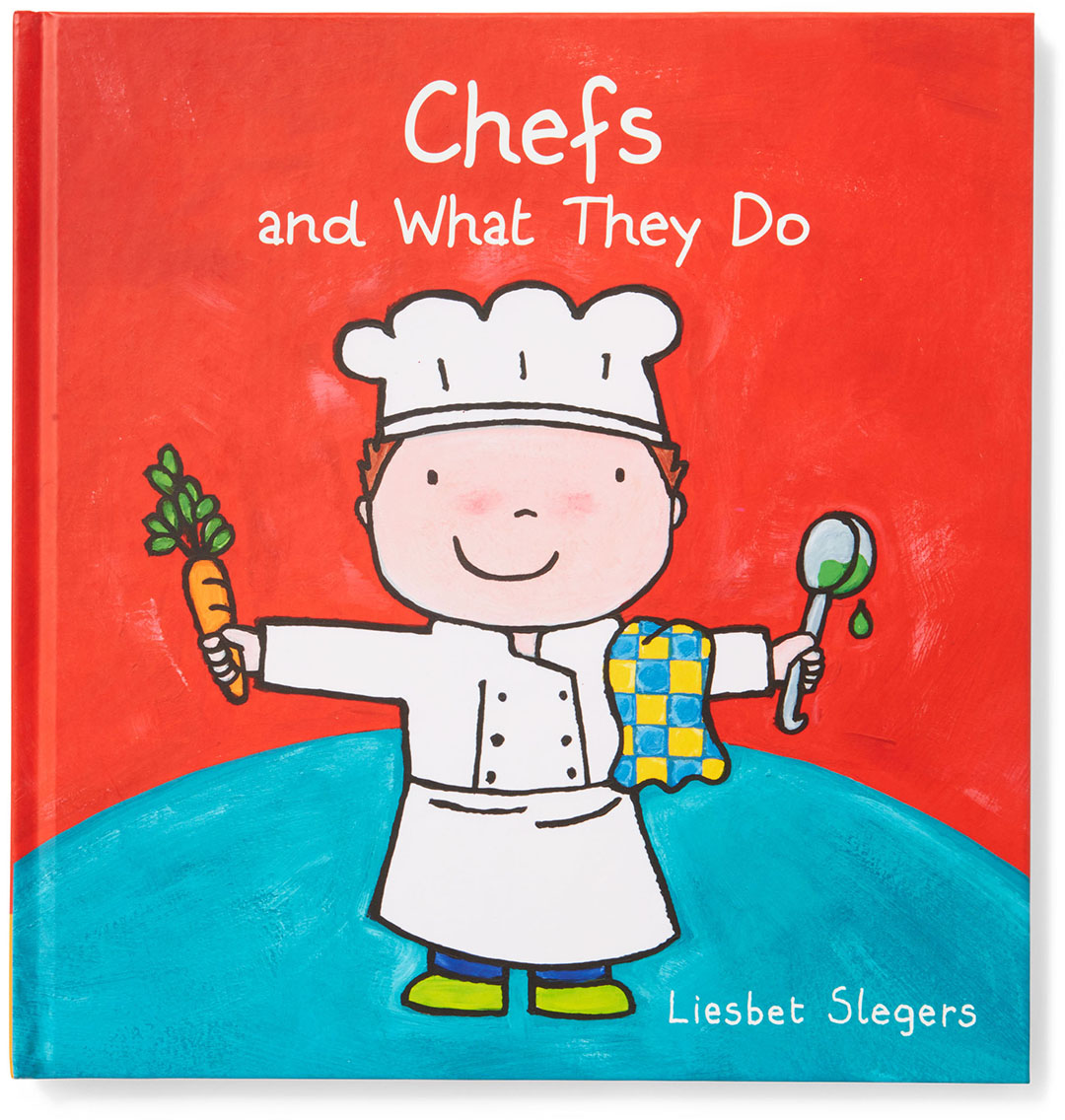 chefs and what they do kids book