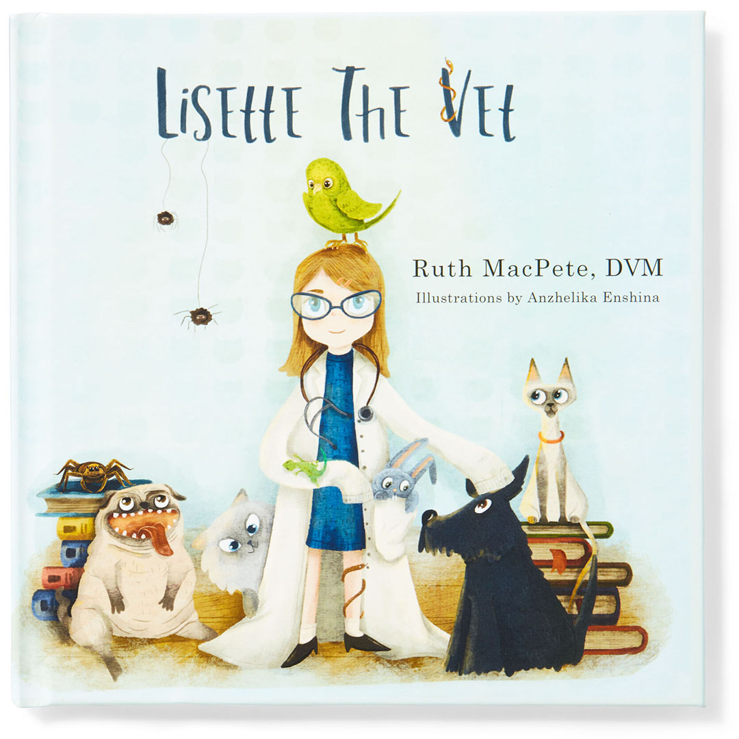 lisette the vet kids book