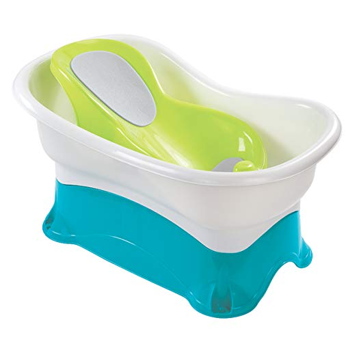 Summer Infant's Comfort Height Bath Center With Step Stool
