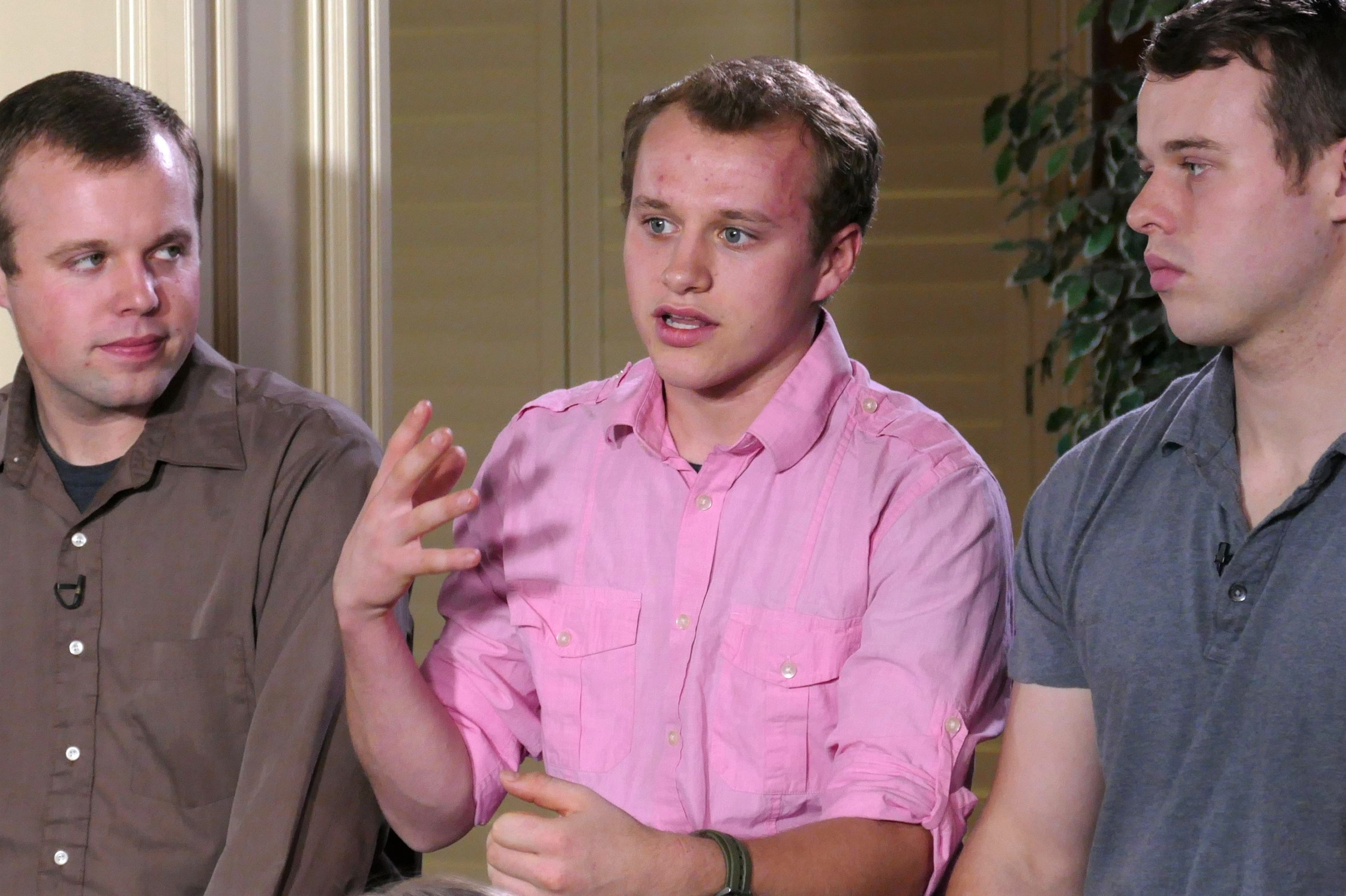 Josiah Duggar Talking Interview with Brothers