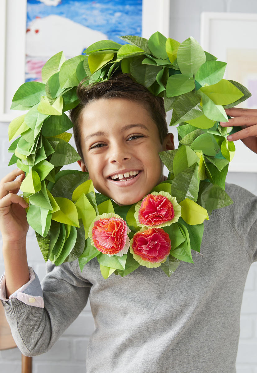 Easter Crafts Spring Wreath