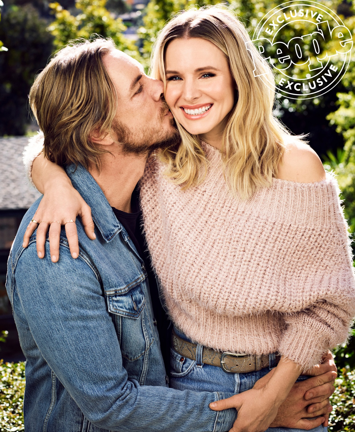 Dax Shepard and Kristen Bell People Exclusive