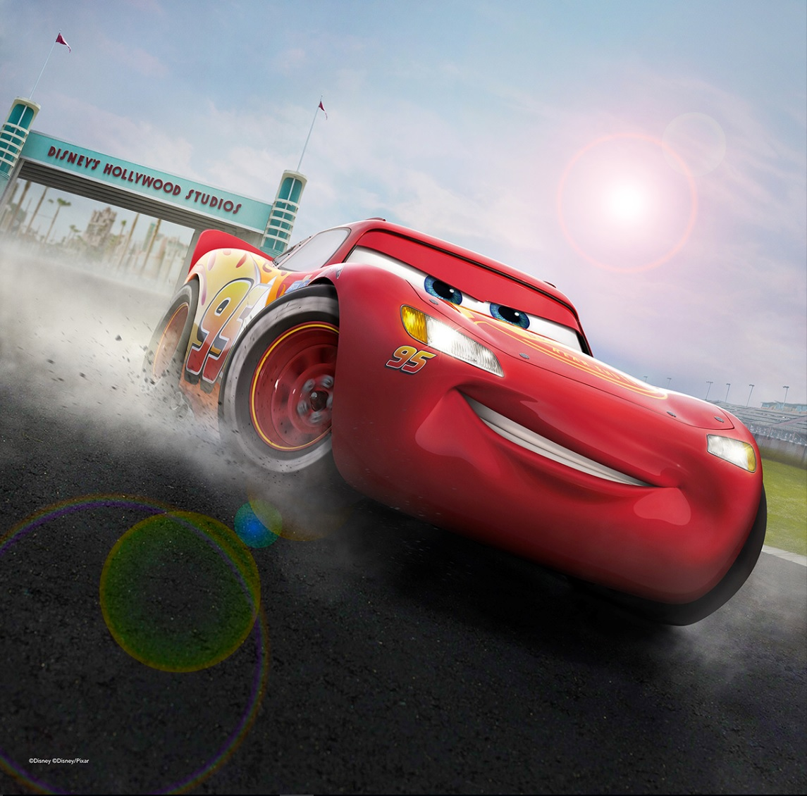 Lightning McQueen Racing Cars 3