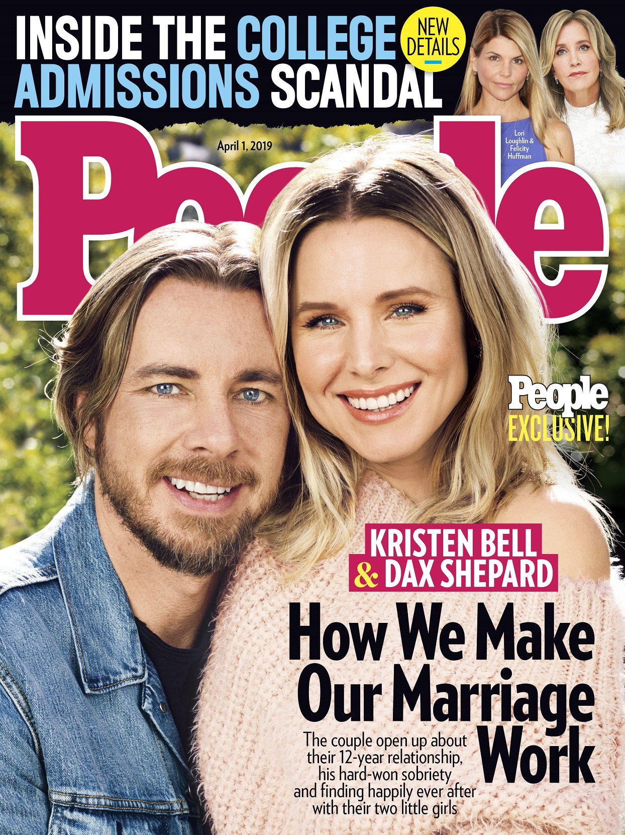 Dax Shepard and Kristen Bell People Magazine Cover Exclusive