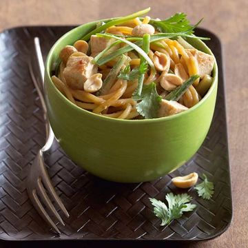 Nutty Asian Noodles