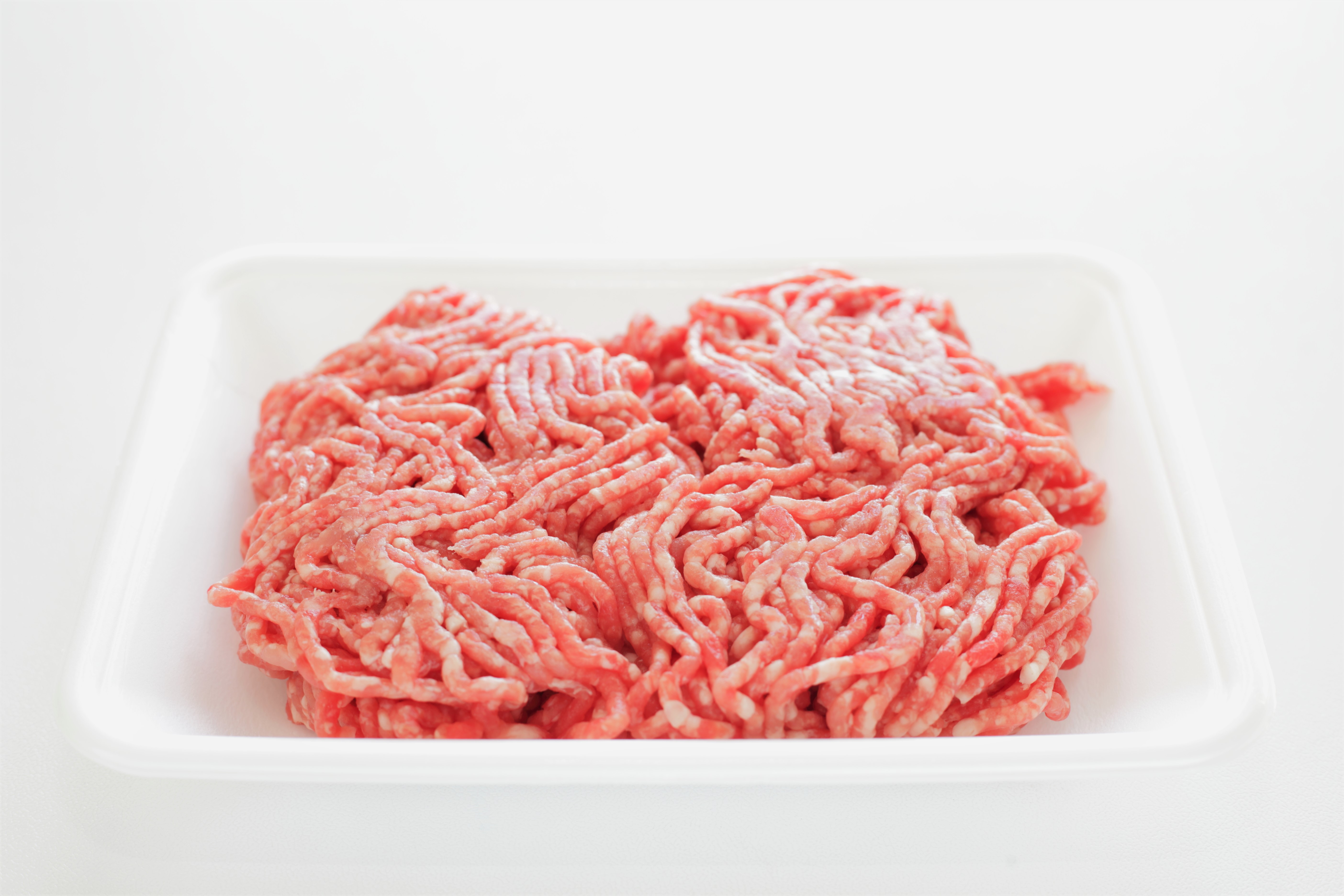 Ground Meat Packaged Raw