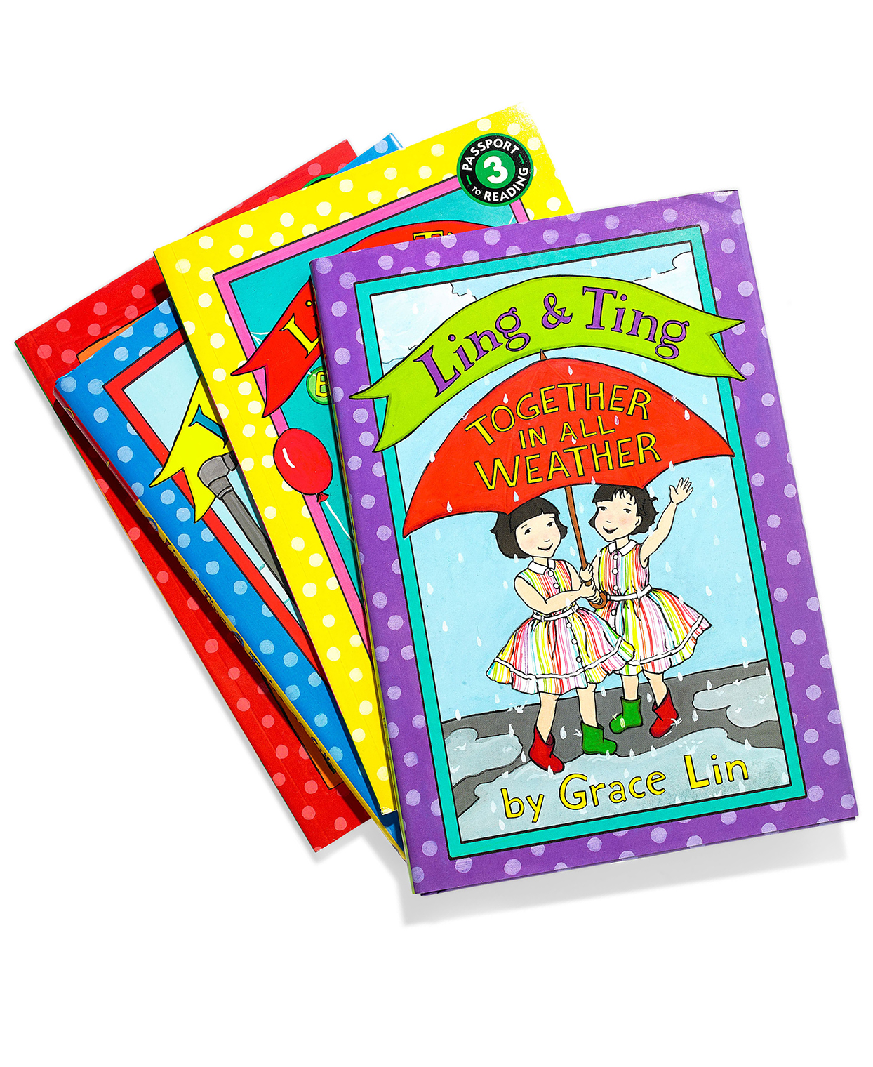 ling and ting colorful children's books for siblings