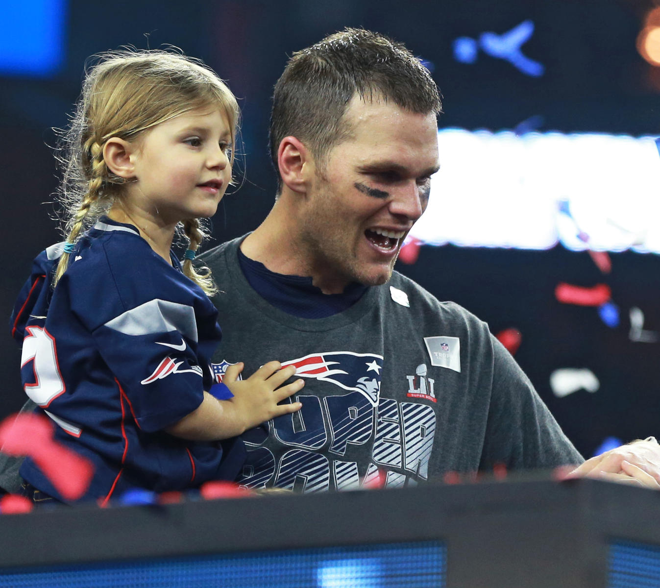Tom Brady Cuts Interview Short After Radio Host Insults His 5-Year-Old Daughter