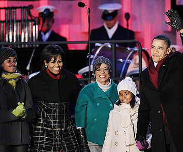 Michelle Obama: Grandma is in the White House