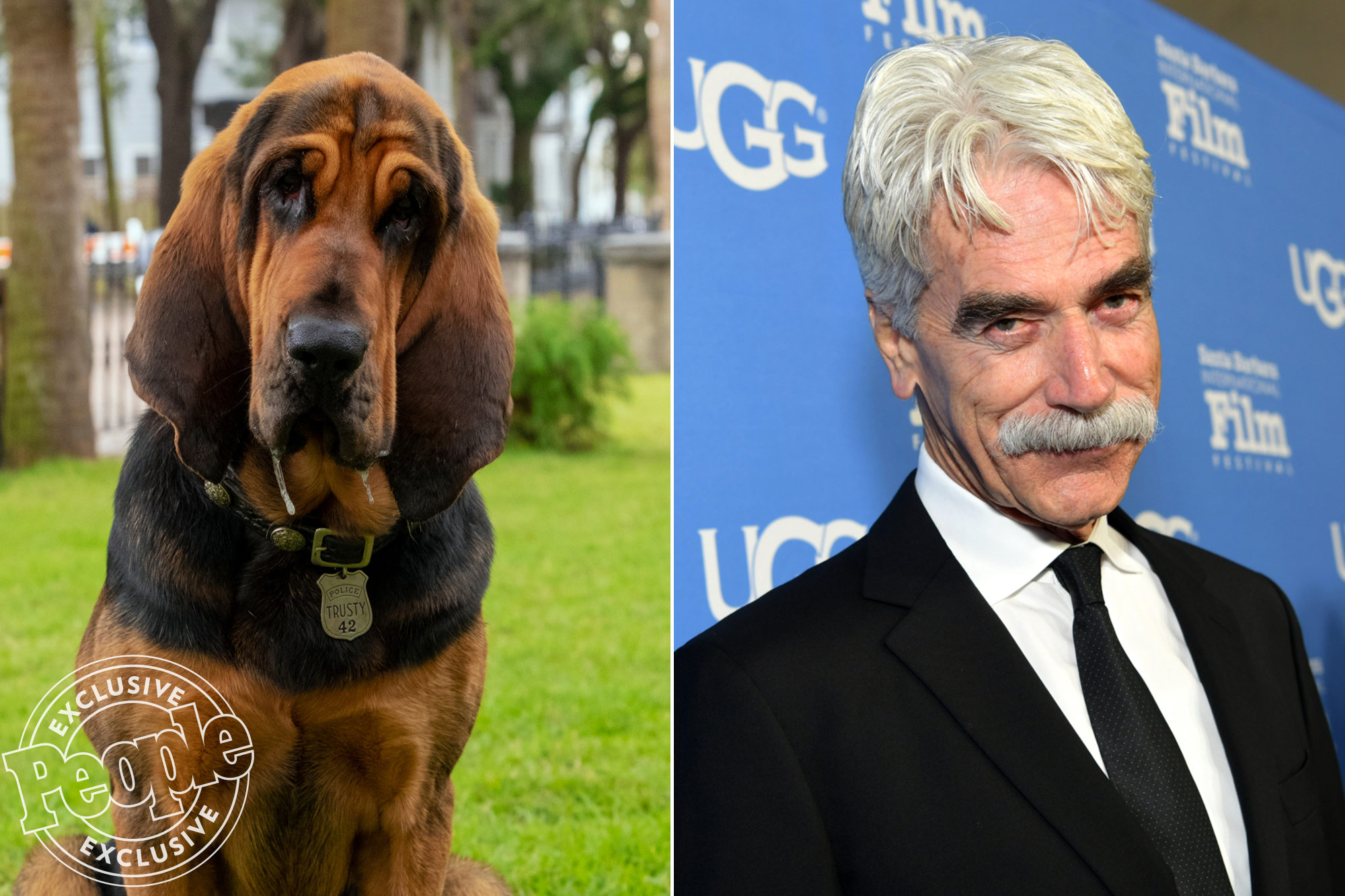 Live Action Lady and the Tramp Movie Sam Elliott as Trusty