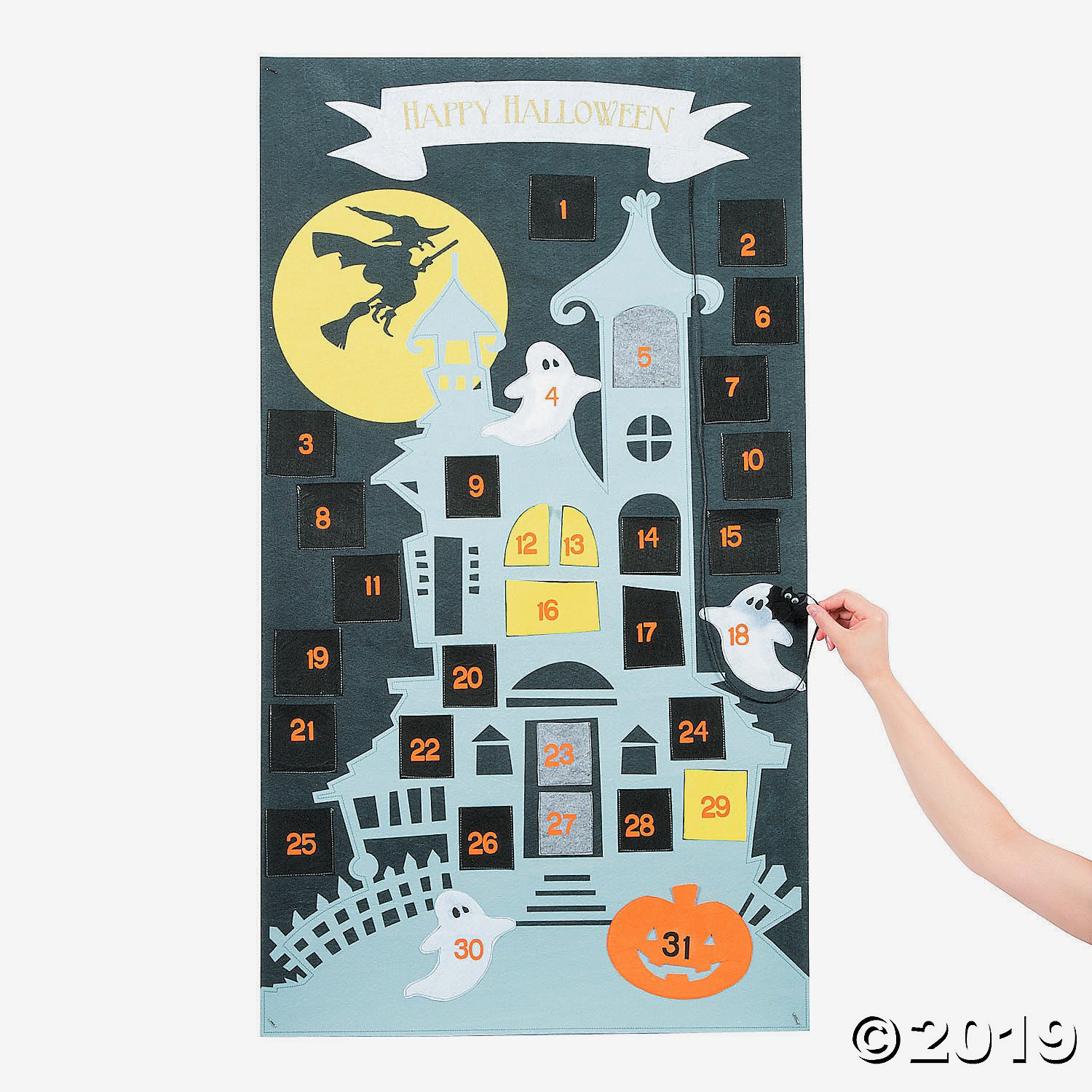 Halloween Advent Calendars Spooky Scenery