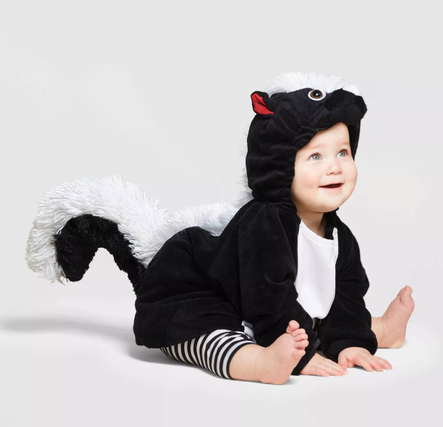 Baby Skunk Halloween Costume