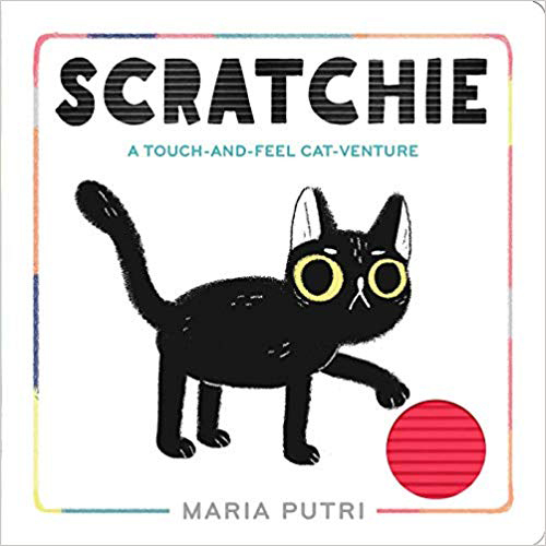 Scratchie A Touch and Feel Cat Venture