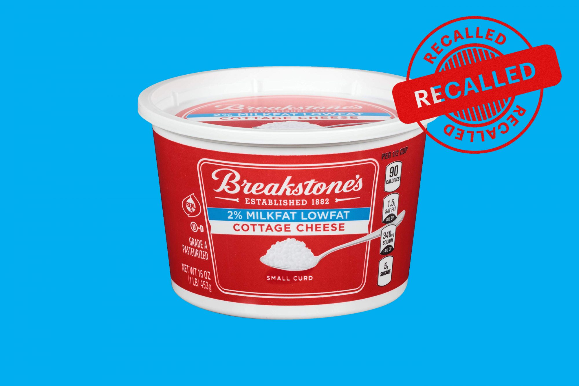 Nearly 10,000 Cases of Breakstone's Cottage Cheese Recalled for Possible Plastic and Metal Contamination