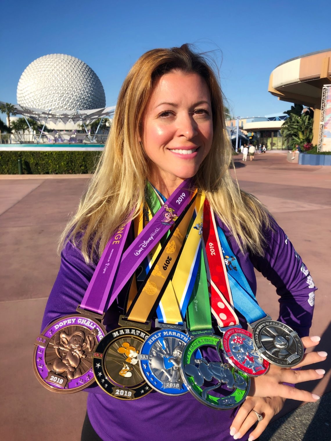 Lisa DiNoto and medals