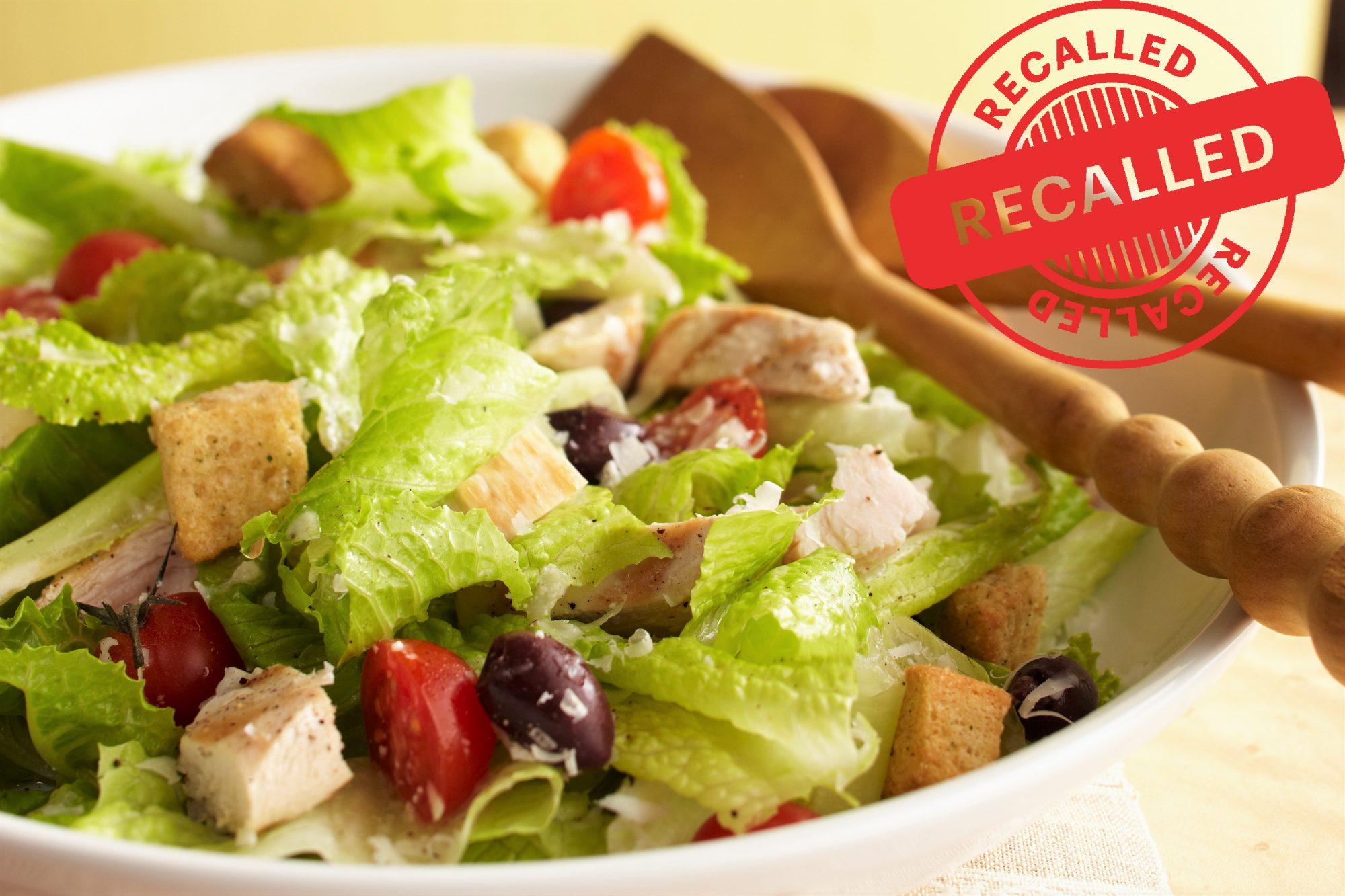 Nearly 100,000 Pounds of Salad Recalled Over E. coli Risk
