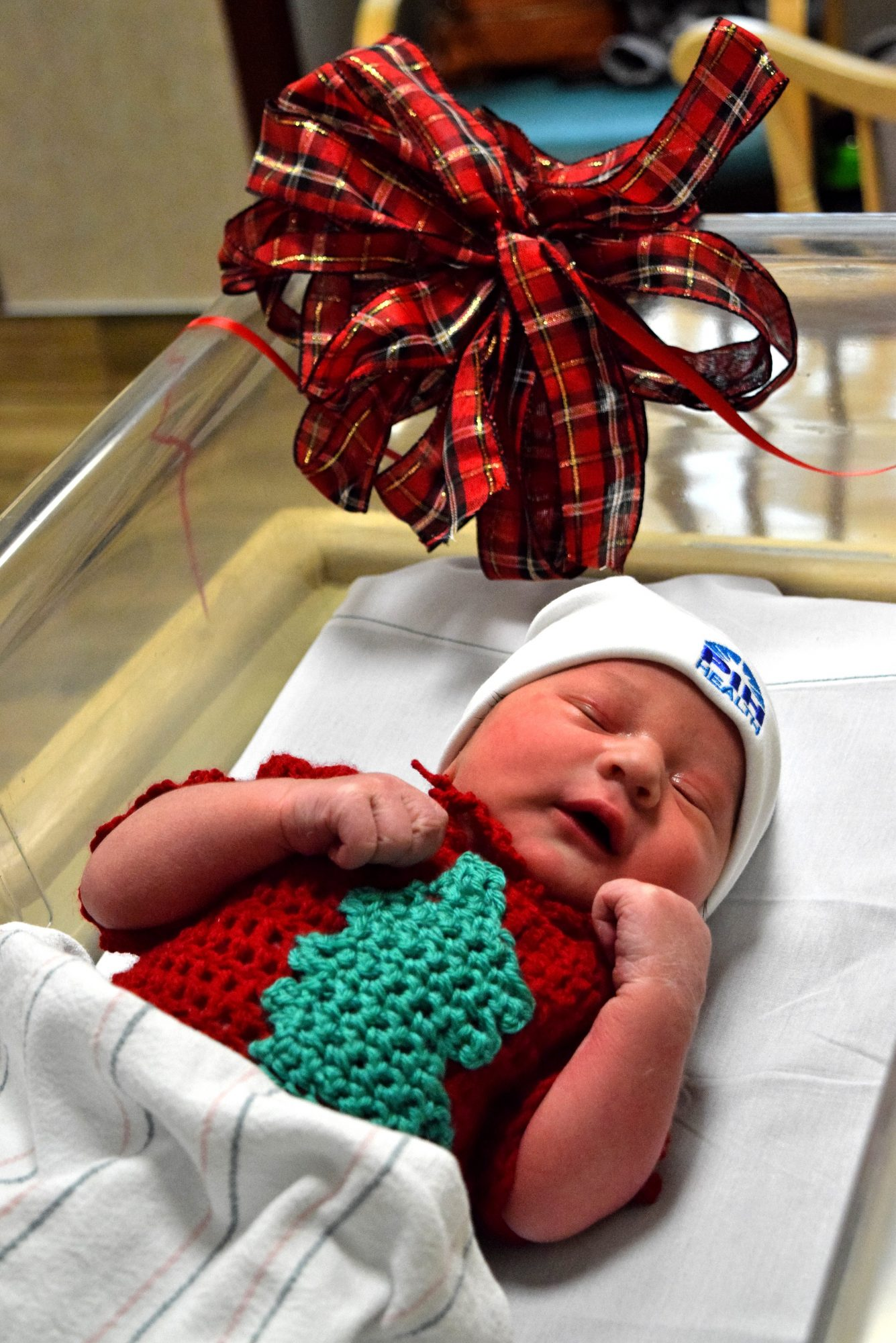 Adorable Newborns Don Ugly Sweaters in This Hospital's Sweet Photo Series