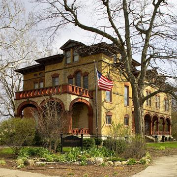 Vrooman Mansion, Bloomington, Illinois