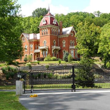 Schenck Mansion Bed and Breakfast, Vevay, Indiana