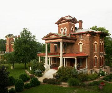 Lyons Twin Mansions, Fort Scott, Kansas
