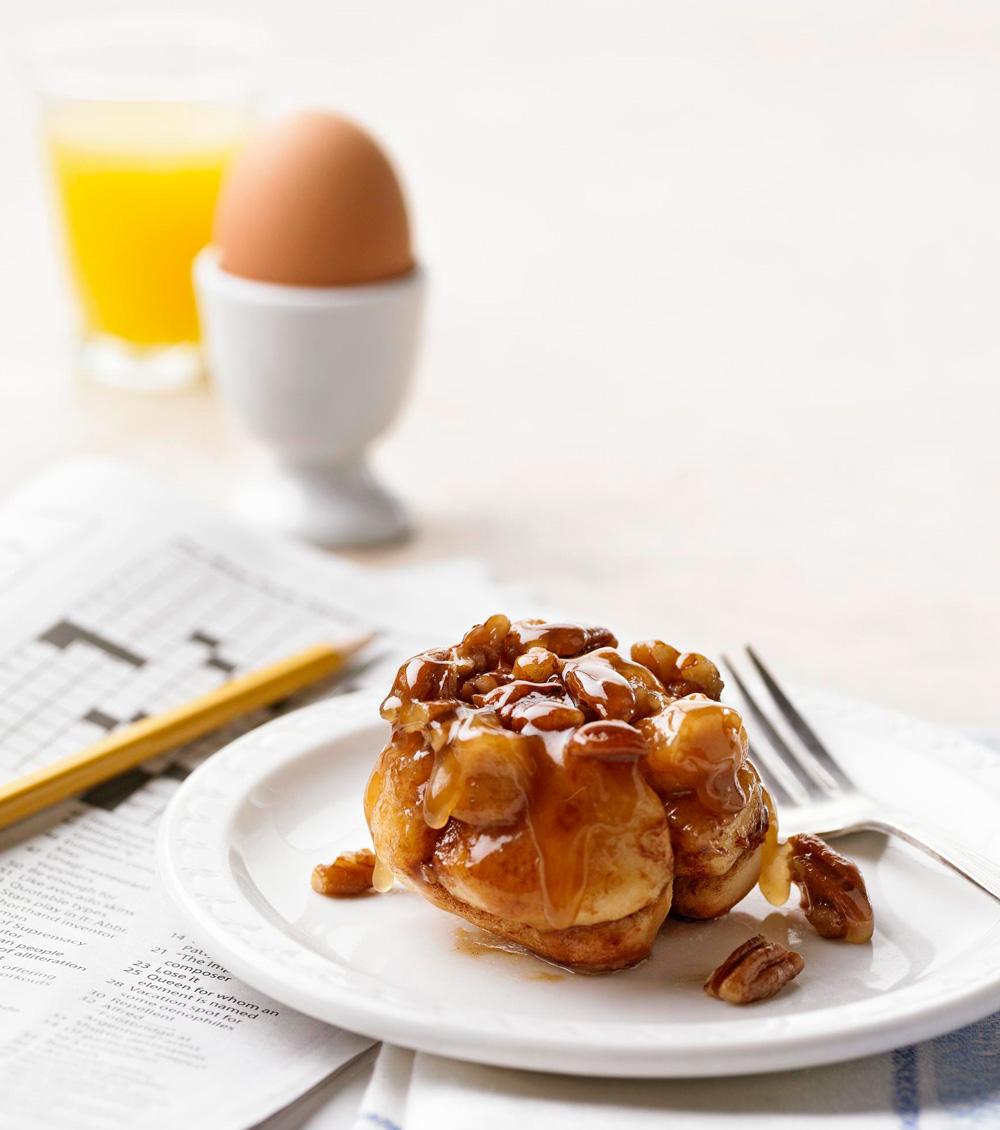 Breakfast Monkey Bread Rolls