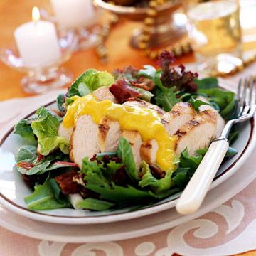 Yuletide Mango Chicken Salad