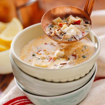 Wild Rice and Fish Chowder