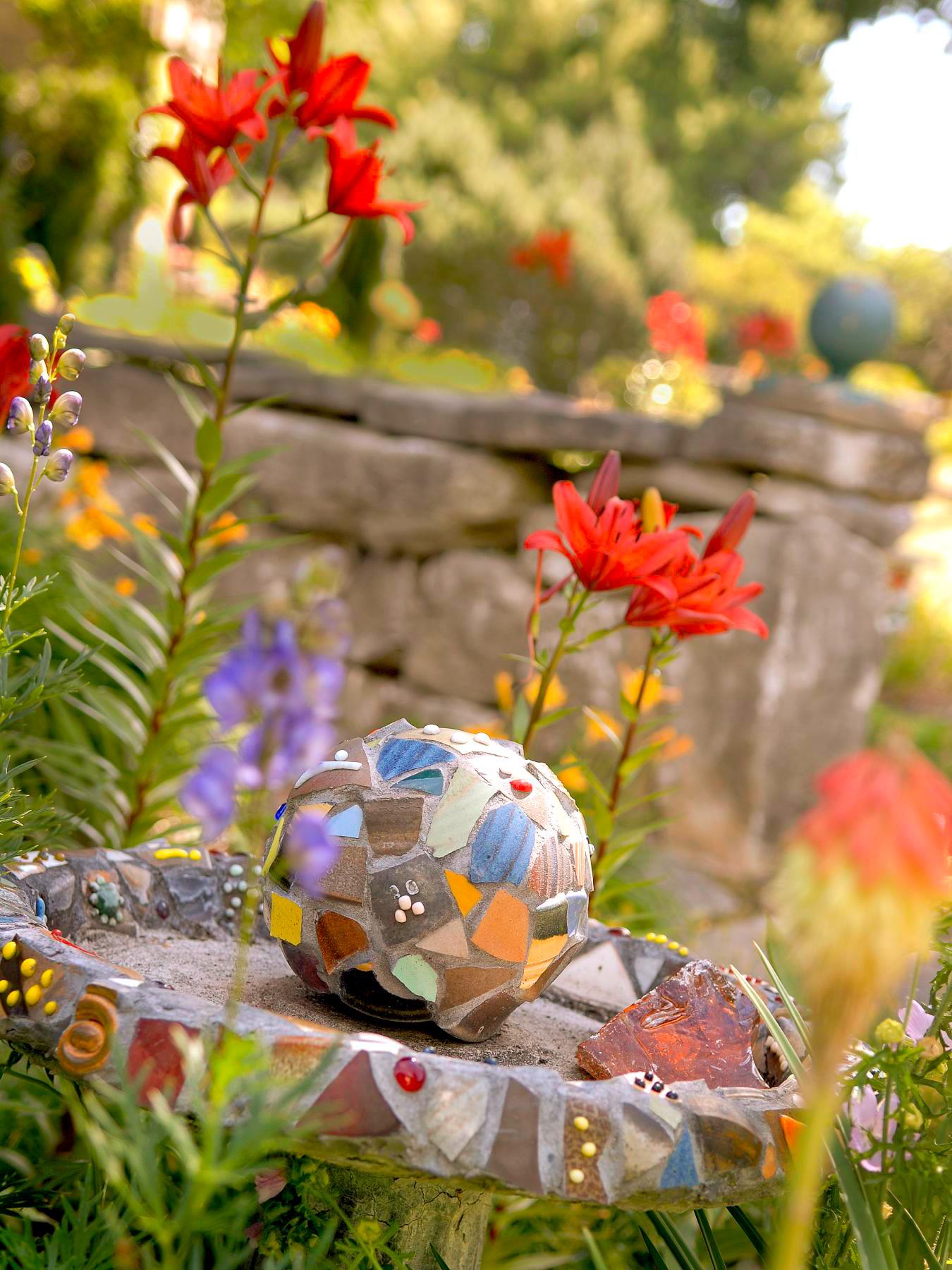 A mosaic garden
