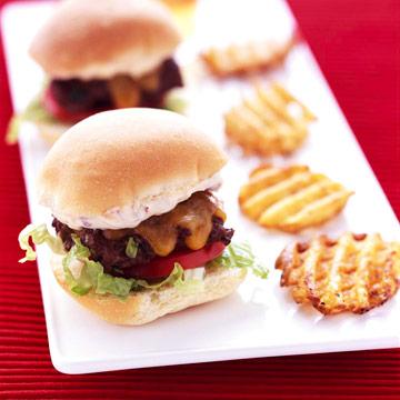 Mini Burger Party Platter