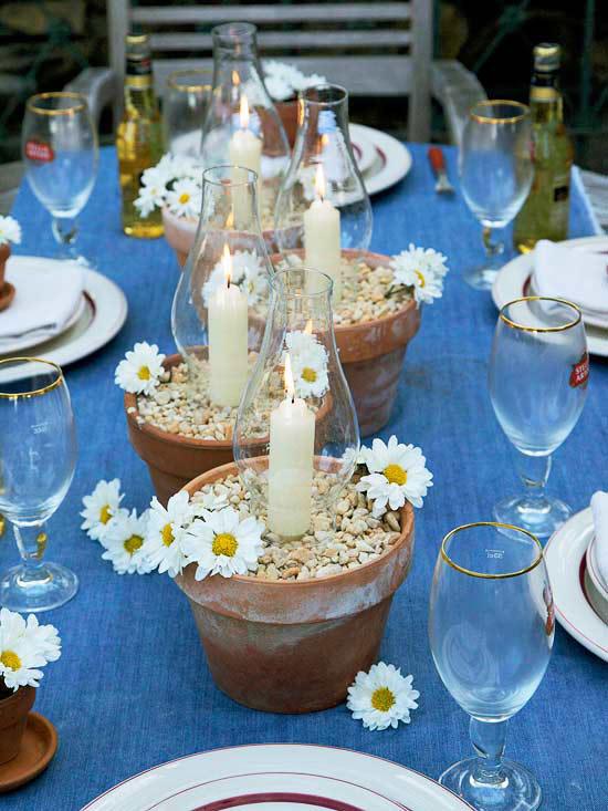 Daisies and denim