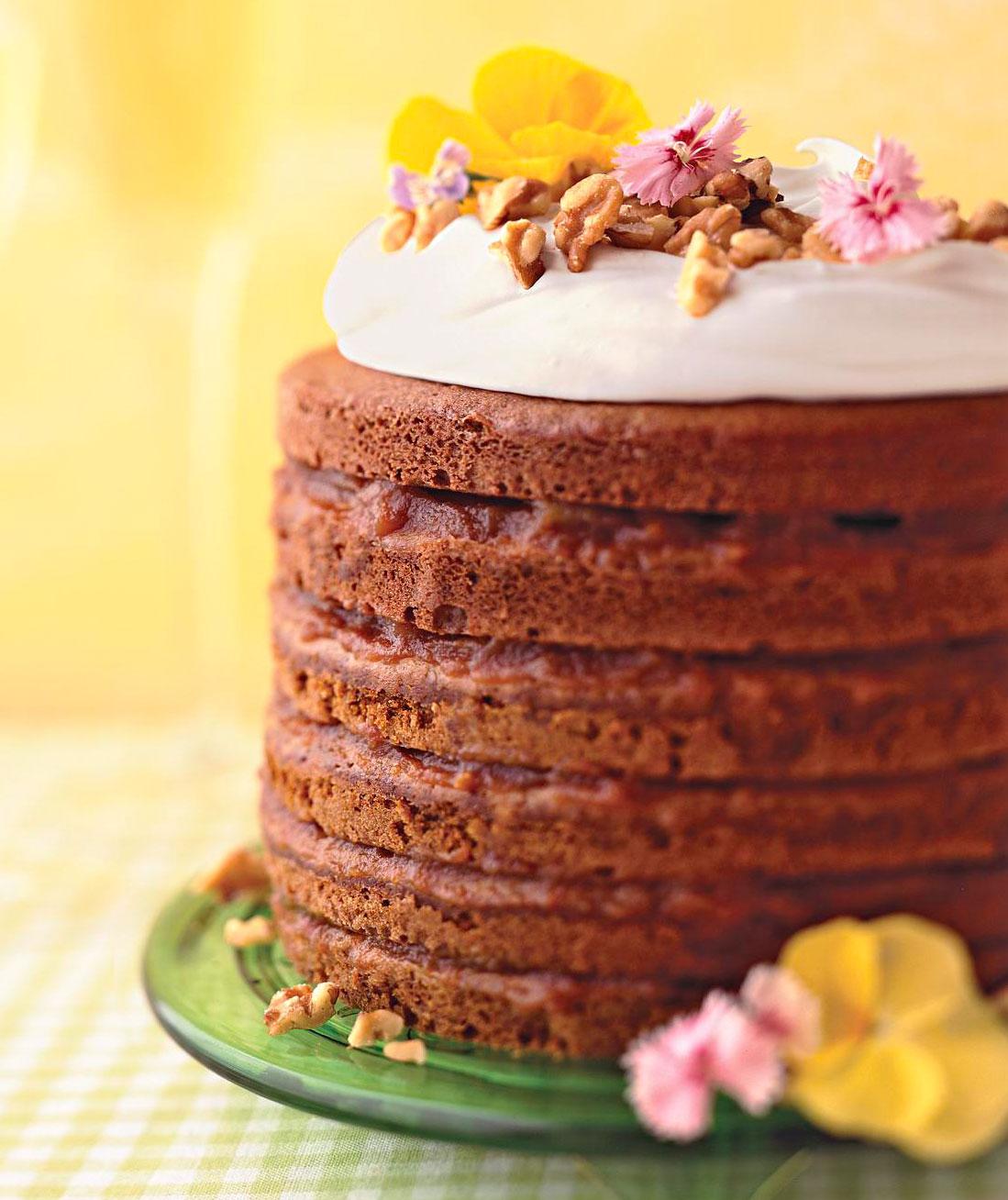 South Dakota: Pioneer Wedding Stack Cake