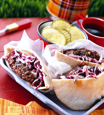 South Dakota: Bison-Zucchini Burgers