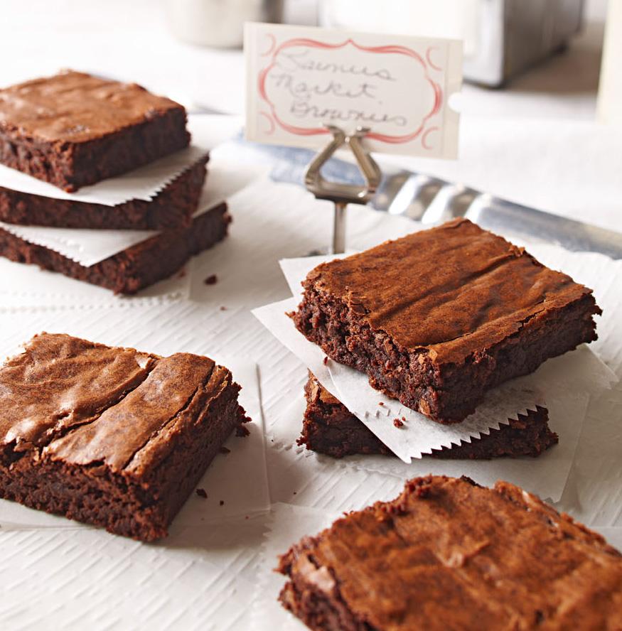 Farmers Market Brownies
