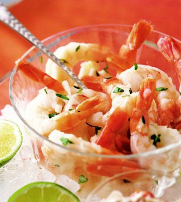 Spunky Holiday Shrimp