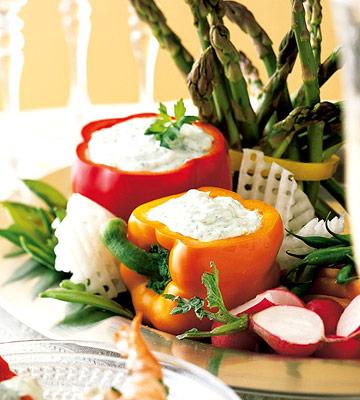 Vegetable Tray Masterpiece