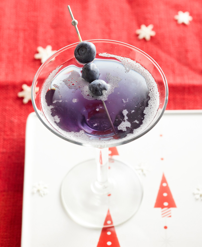 Old Blue Eyes Martini