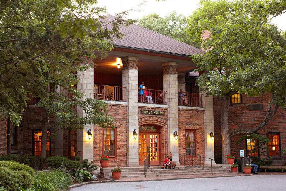 Turkey Run Inn, Indiana: 150 miles south of Chicago