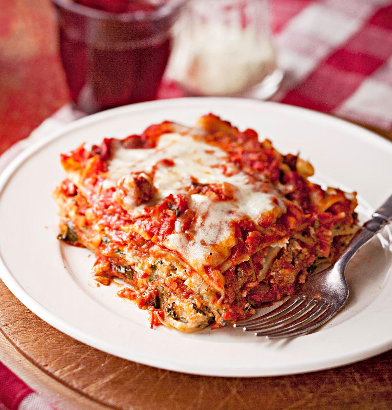 Wine-Tasting Lasagna