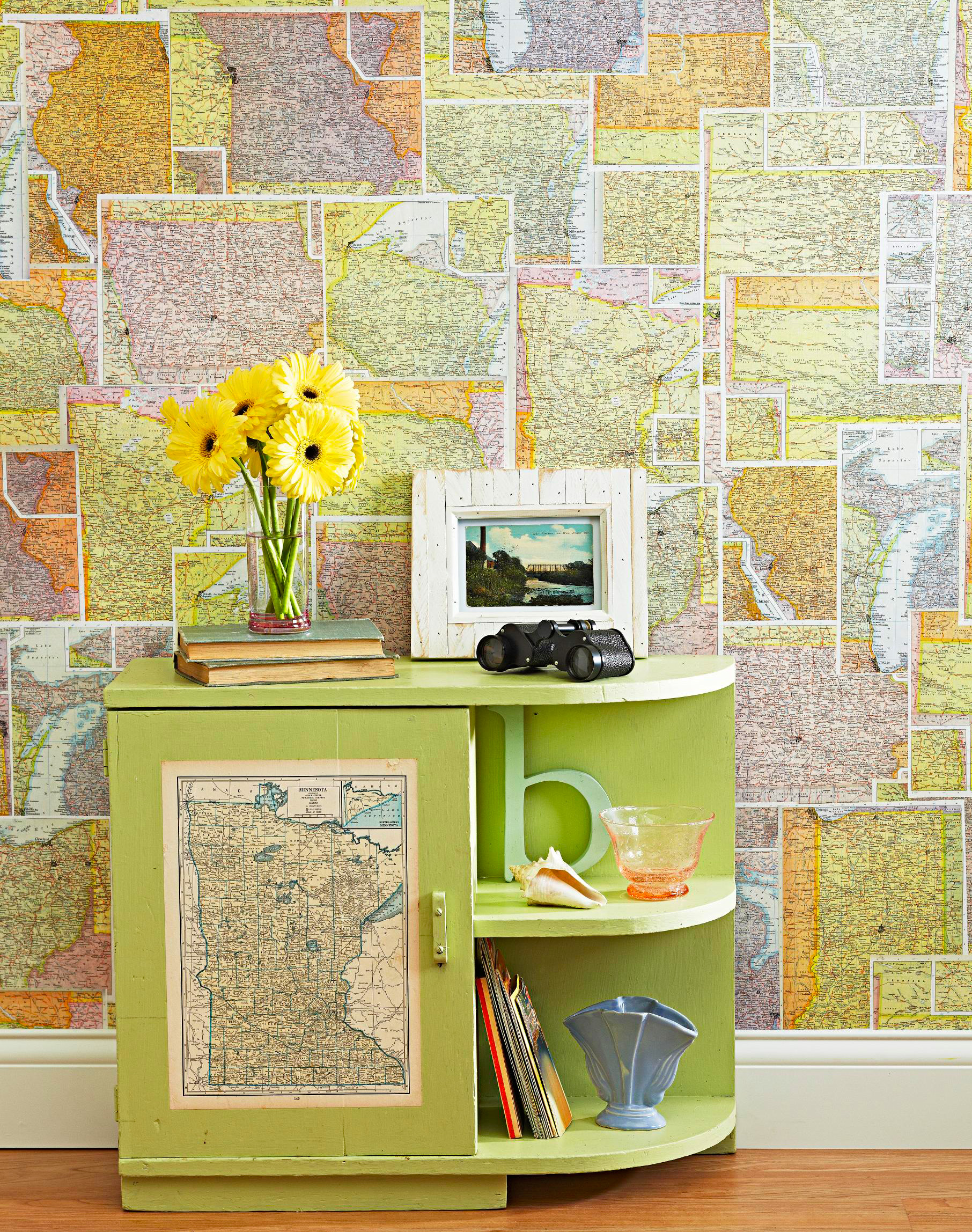 Map-tastic decor