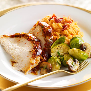 Turkey and sides to crave