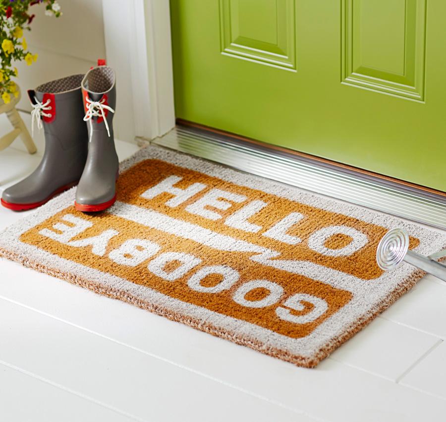 Painted doormat