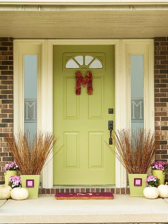 Monogram your door