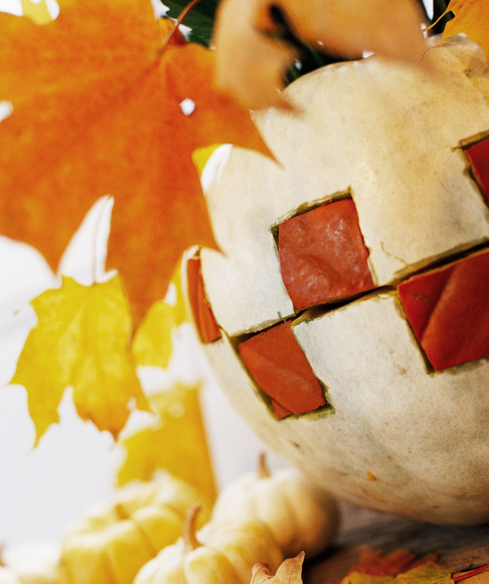 Patchwork pumpkins