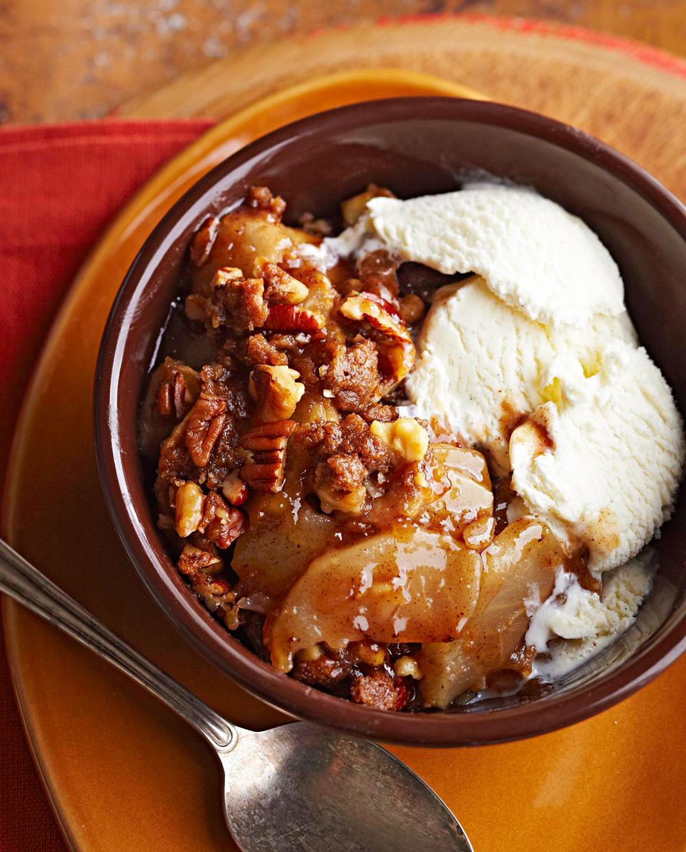 Ginger-Cinnamon Apple Crisp