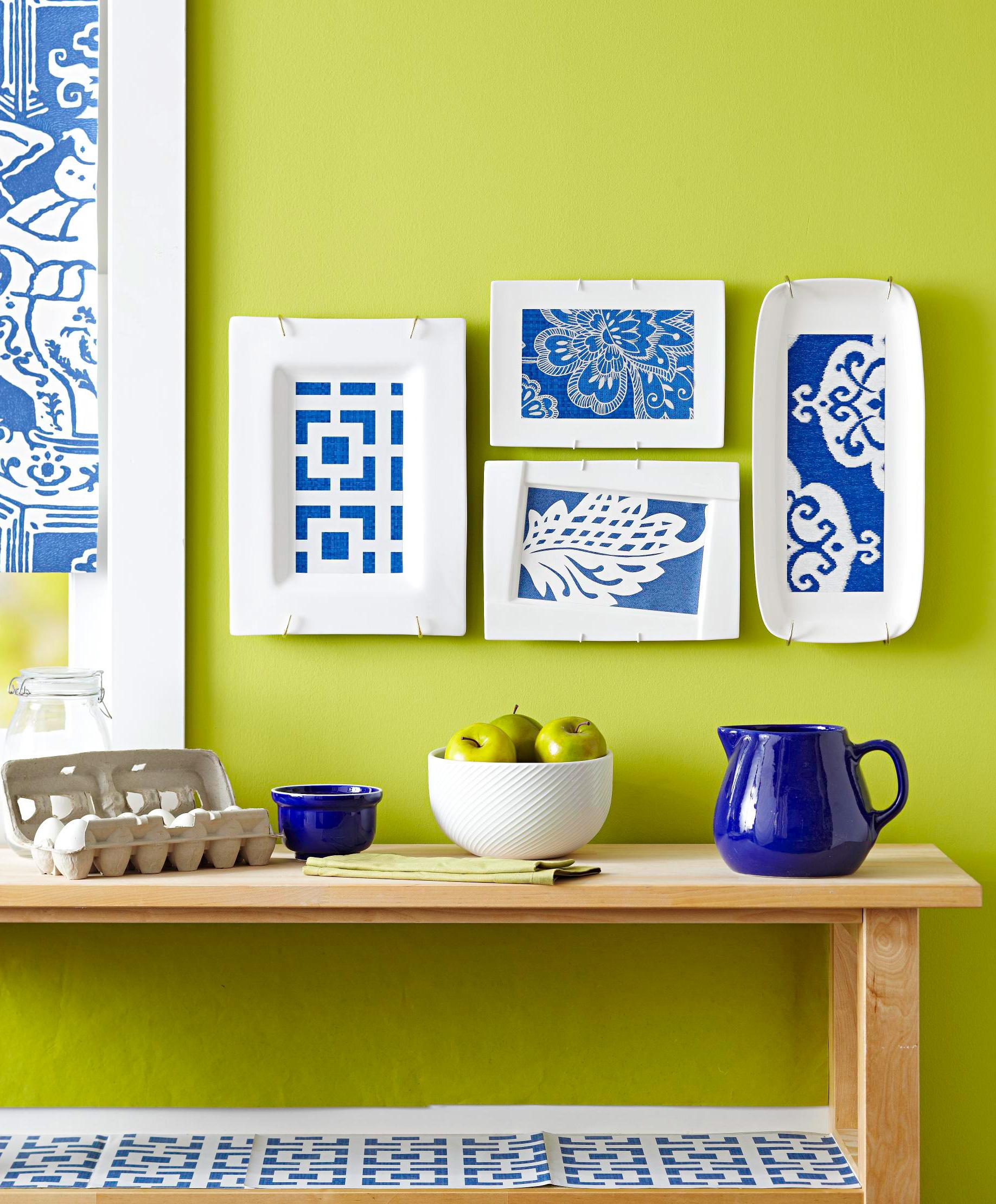 Pattern on platters