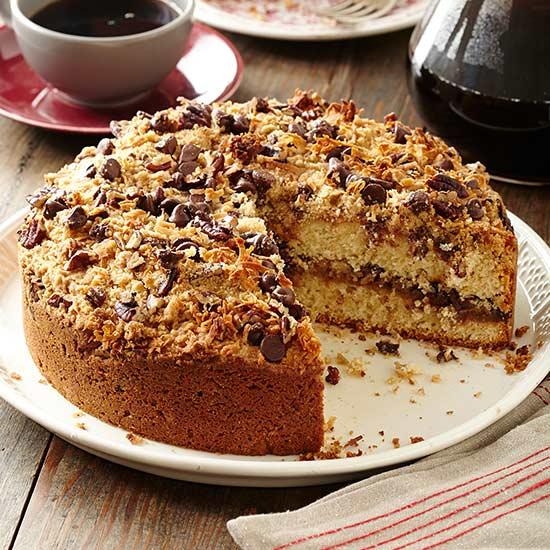 Chocolate-Pecan Coffee Cake